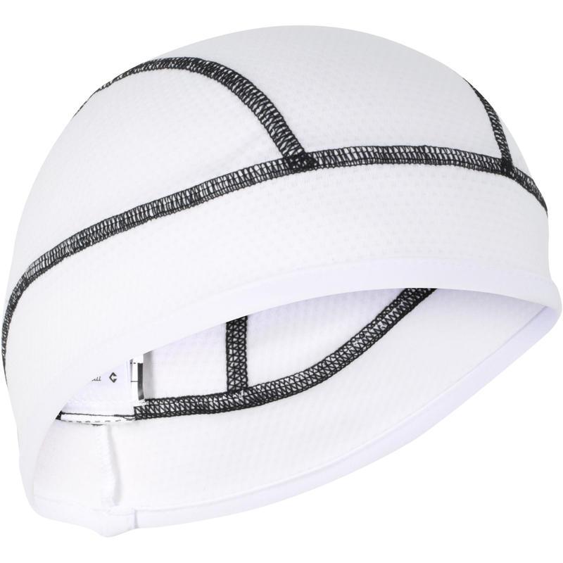 Sous-casque vélo 500 RAFRAÎCHISSANT blanc