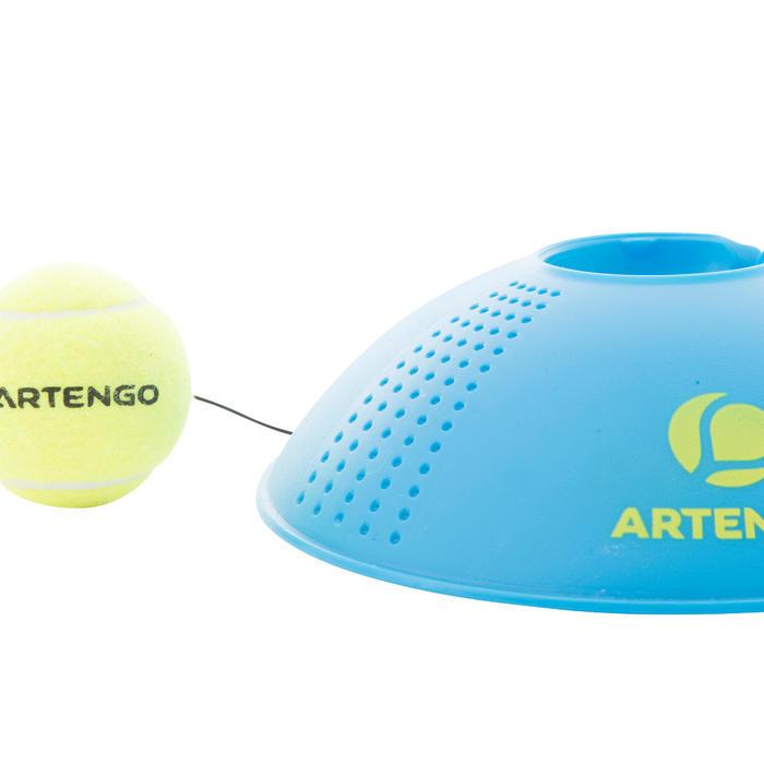 """""""回彈""""網球練習器-藍色"""