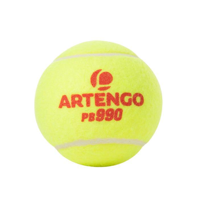 Balles de padel PB990 Jaune - 216382