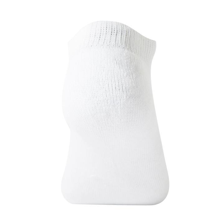 Halfhoge sportsokken voor kinderen RS 100, set van 3 paar, wit