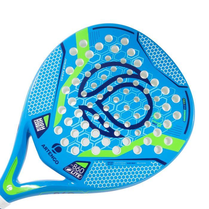 Padelracket voor kinderen PR860 Confort blauw