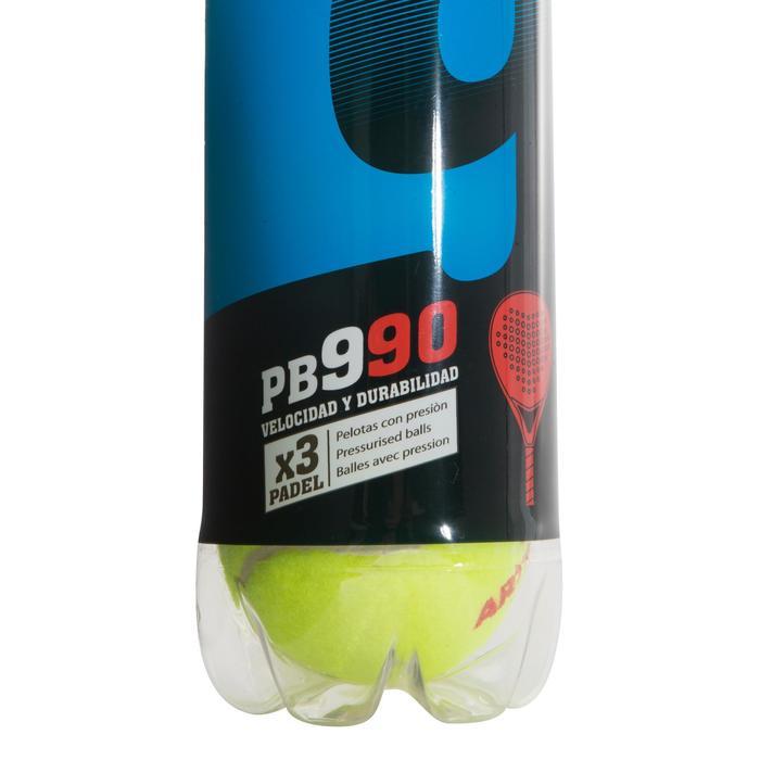 Balles de padel PB990 Jaune - 216448