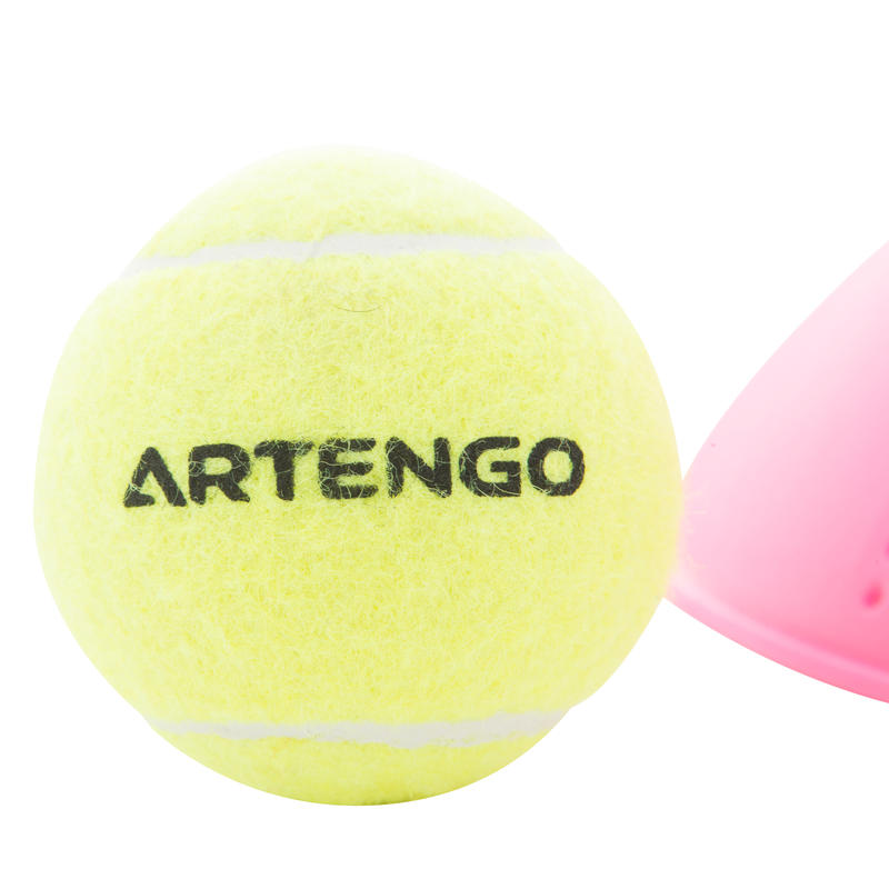 _QUOTE_Ball is back_QUOTE_ Tennis Trainer - Pink