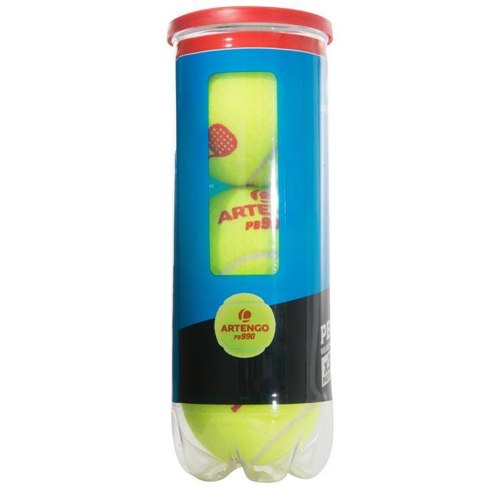 Balles de padel PB990 Jaune - 216452