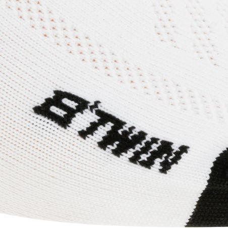 Summer Road Cycling Socks 500 - White
