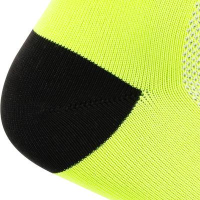 جوارب ركوب الدراجة RoadR 500 - أصفر نيون