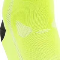 Summer Road Cycling Socks 500 - Neon Yellow