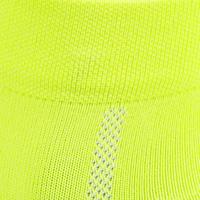 Calcetines ciclismo ROADR 500 amarillo fluorescente