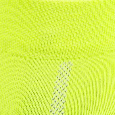 Chaussettes vélo route ROADR 500 jaune fluo
