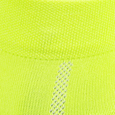 Medias de ciclismo ROADR 500 amarillo fluorescente