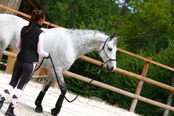 Set ethologisch halster + halstertouw Whisperer pony en paard zwart - 21695
