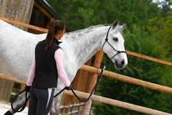 Set ethologisch halster + halstertouw Whisperer pony en paard zwart - 21698