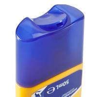Komplekts aizsardzībai pret sauli: krēms SPF50+, lūpu balzams SPF50+, losjons.