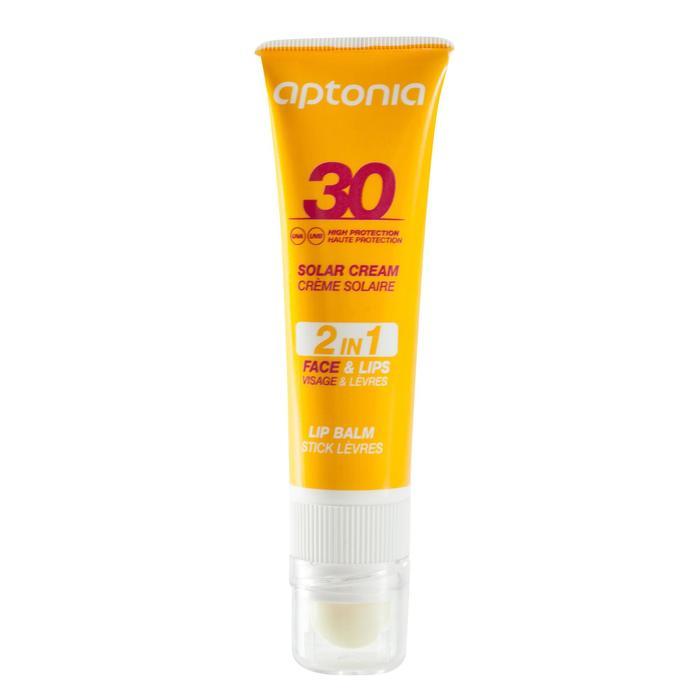 Duo 2 en 1 crema solar y lápiz de labios de protección solar IP30
