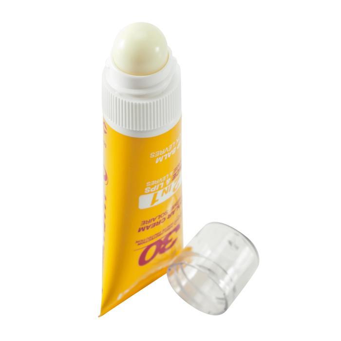 Duo 2 en 1 crème solaire et stick lèvres protecteur solaire IP30