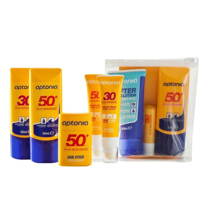 Sonnencreme 2-in-1 Set Gesichtscreme und Lippenpflegestift mit LSF30