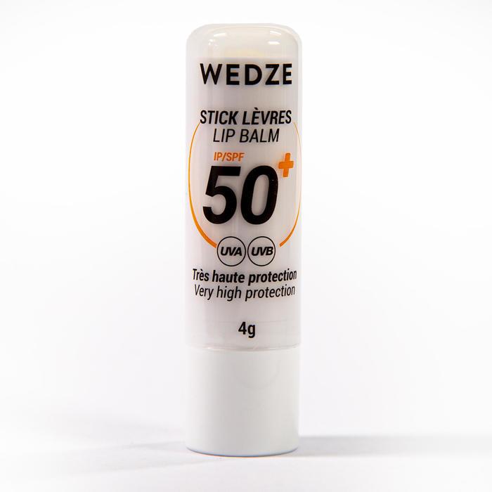 Hydraterende en zonbeschermende lipstick SPF 50+