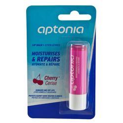 Hydraterende en herstellende lipstick. Kersensmaak.