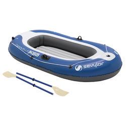 Opblaasboot Caravelle KK65 set blauw/grijs