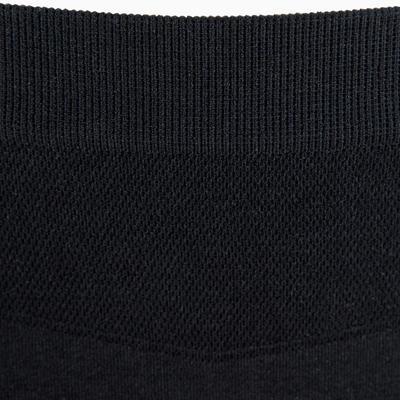 Women's Breathable Running Thong - Black