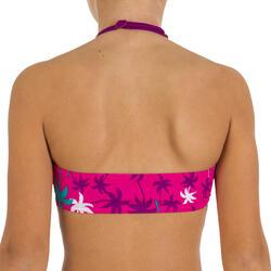 Meisjesbikini bandeaumodel AG Palm meerkleurig - 21756