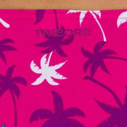Meisjesbikini bandeaumodel AG Palm meerkleurig - 21759