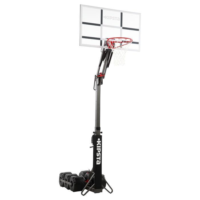 Panier de basket enfant/adulte B900. 2,40m à 3,05m. Se règle et se range en 2mn. - 217798