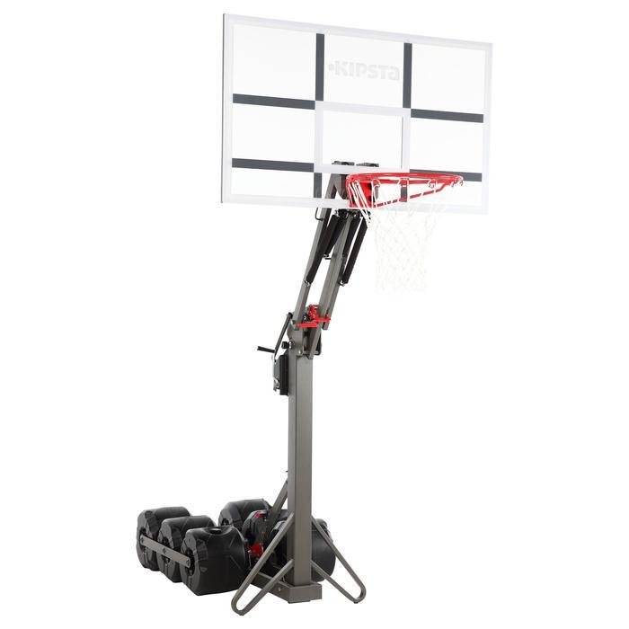 Panier de basket enfant/adulte B900. 2,40m à 3,05m. Se règle et se range en 2mn. - 217803