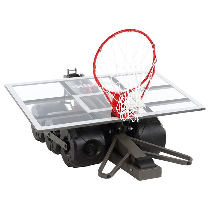 Basketbalpaal B900 kinderen/volwass. 2,4 tot 3,05 m. In 2 min. regelen/opbergen