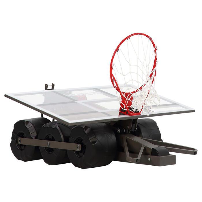 Panier de basket enfant/adulte B900. 2,40m à 3,05m. Se règle et se range en 2mn. - 217818