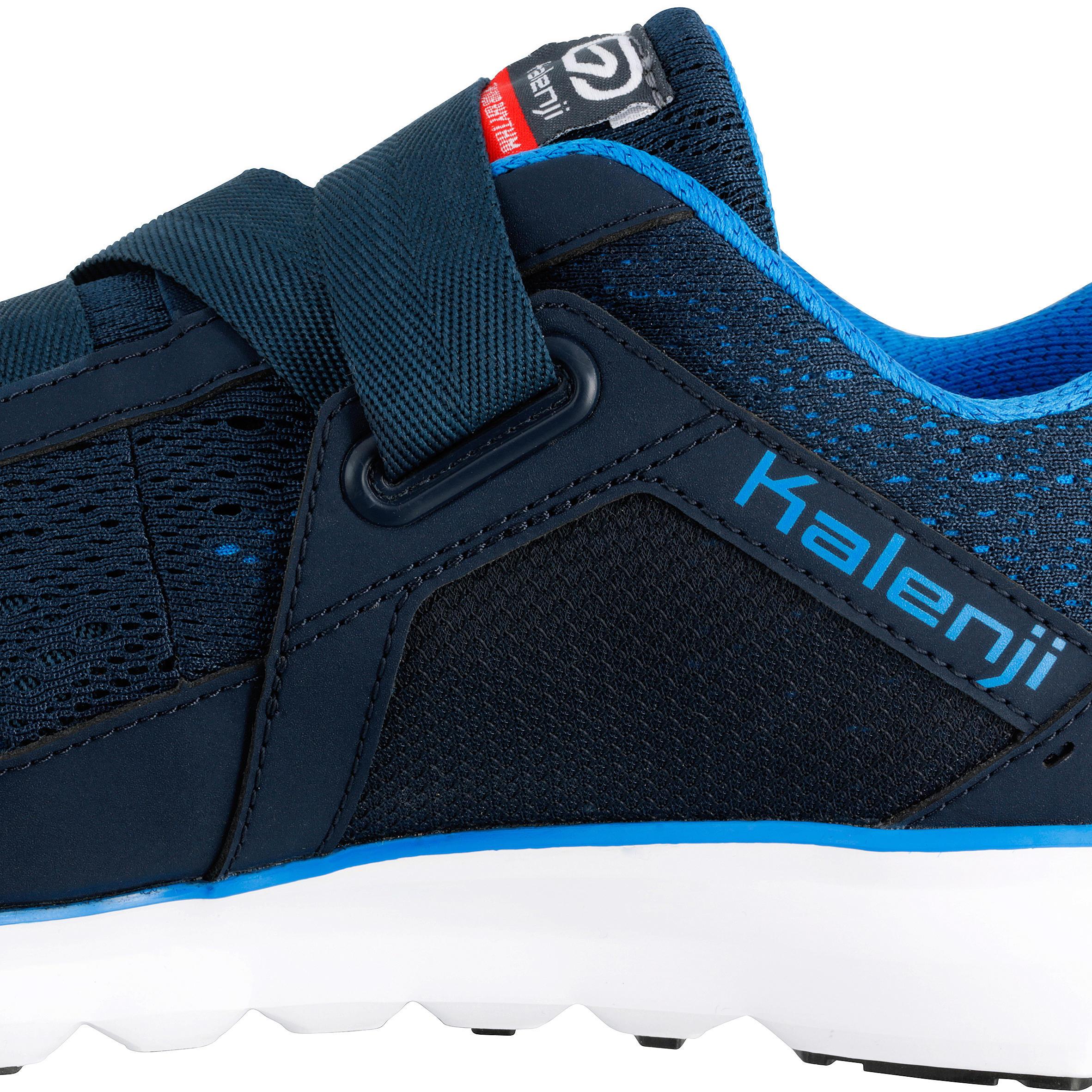ELIOFEET MEN'S RUNNING SHOES BLUE