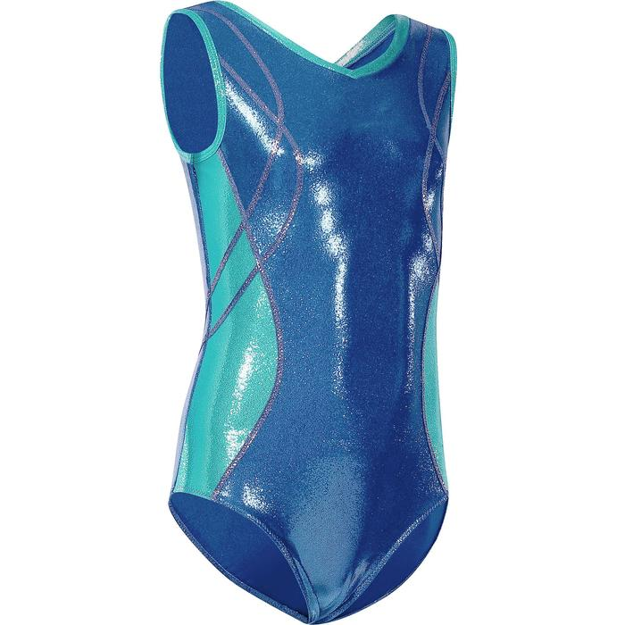 Justaucorps sans manches Gymnastique (GAF) Fille - 218208