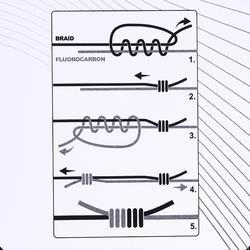 Hauptschnur 8-fach geflochten 130m grau