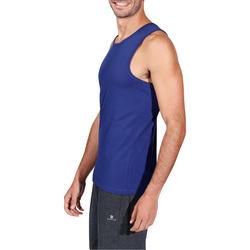Mouwloos herenshirt voor gym en pilates - 218422