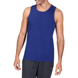 Mouwloos herenshirt voor gym en pilates - 218423