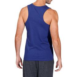 Mouwloos herenshirt voor gym en pilates - 218424