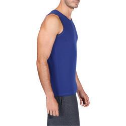 Mouwloos herenshirt voor gym en pilates - 218426
