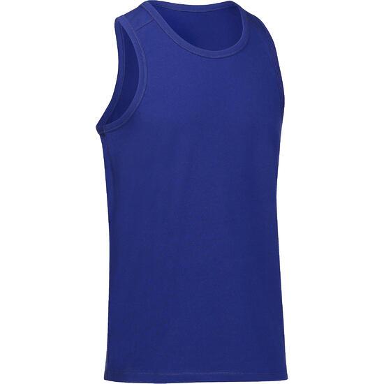 Mouwloos herenshirt voor gym en pilates - 218428