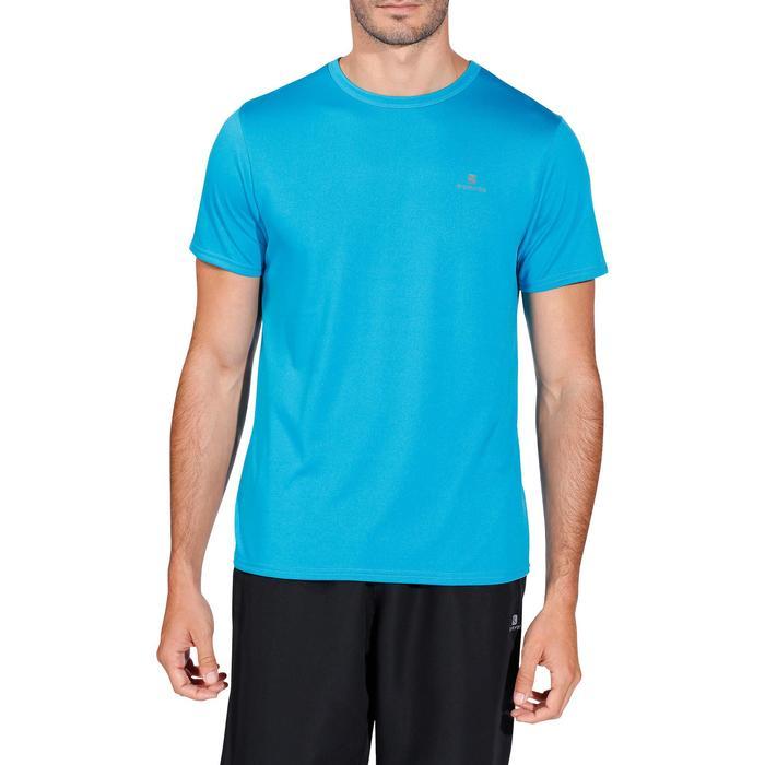 T-shirt Fitness Energy cardiotraining voor heren blauw