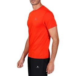 T-shirt fitness Cardio homme rouge FTS100