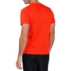 Camiseta de fitness Cardio para hombre rojo FTS100