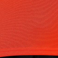 T-Shirt 100 Fitness Cardio Herren rot