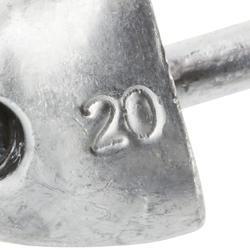 Jigkop voor kunstaashengelen Biga Light Jig Head x 3 - 30 g - 218665