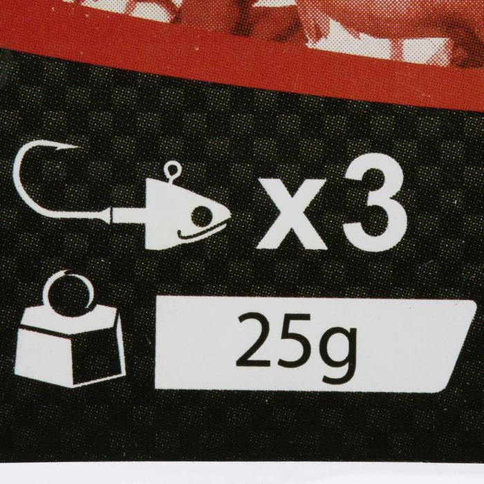 Jigkop voor kunstaashengelen Biga Light Jig Head x 3 - 25 g