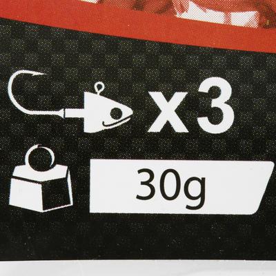 طُعم بيجا هزاز مضيء×3 30 جرام للصيد بالطعم