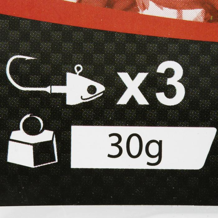 Jigkop voor kunstaashengelen Biga Light Jig Head x 3 - 30 g