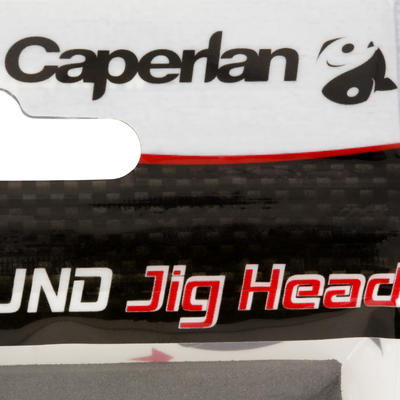 Cabeza plomada pesca con señuelos ROUND JIG HEAD x4 2 g
