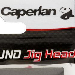 Tête plombée pêche aux leurres ROUND JIG HEAD x4 2 gr