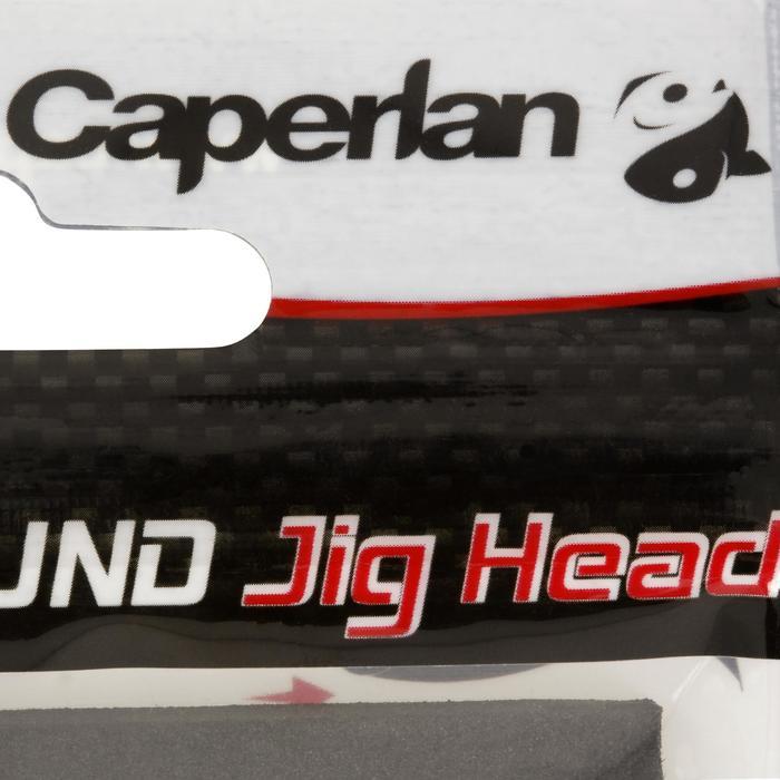Loodkop voor kunstaashengelen Round Jig Head x 4 - 3,5 g