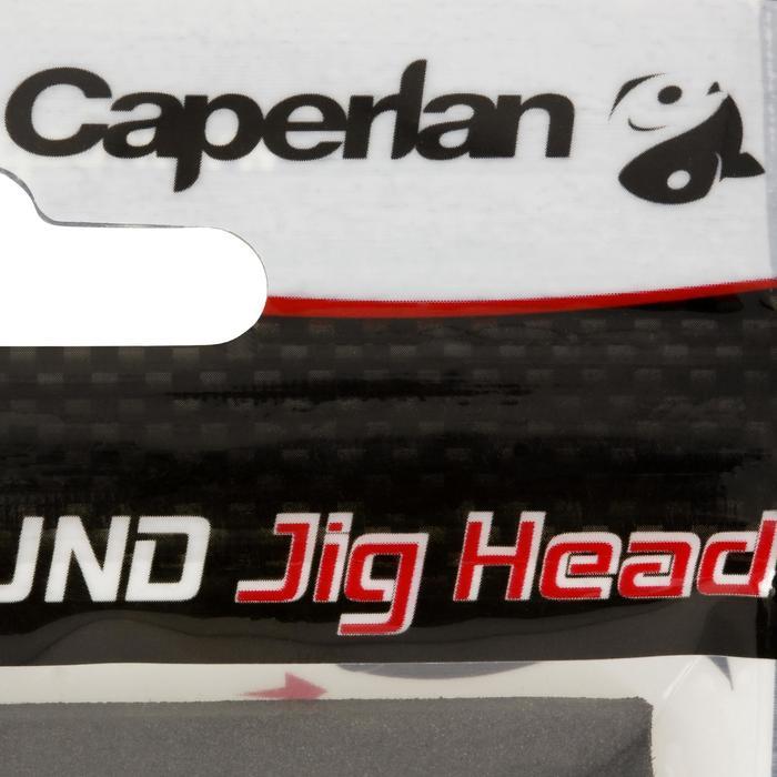 Jigkop voor kunstaashengelen Round Jig Head x4 5 g